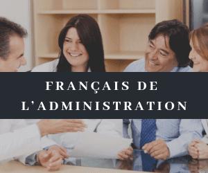 Français de l'administration