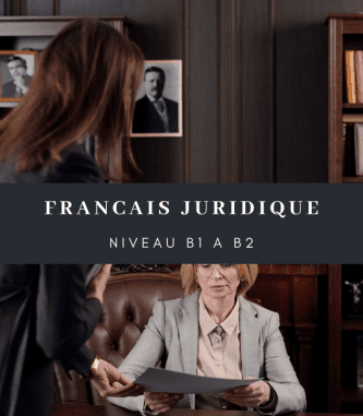 Preparation course for the French Legal DFP