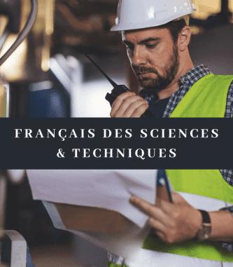 Preparation course for the DFP Sciences and techniques