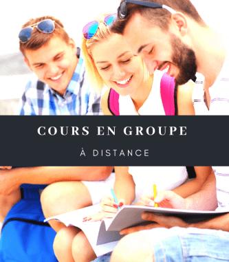 Distance group courses